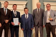 ТГУ и «Самотлорнефтегаз» получили награду за очистку озера от нефти